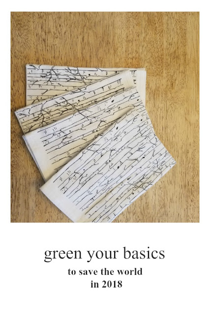 green your basics to save the world in 2018