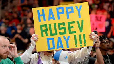 Rusev Day Aiden English SmackDown Live Tag Team