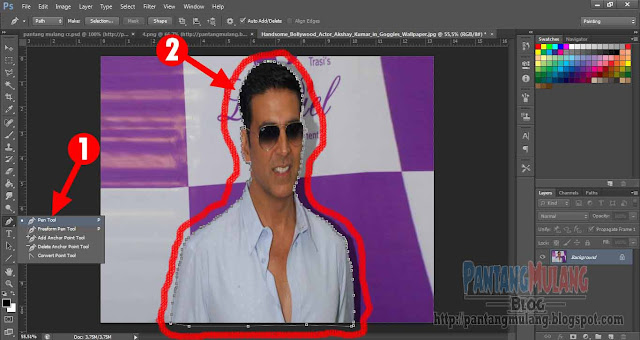 2 Cara Menghilangkan Background Foto di Photoshop