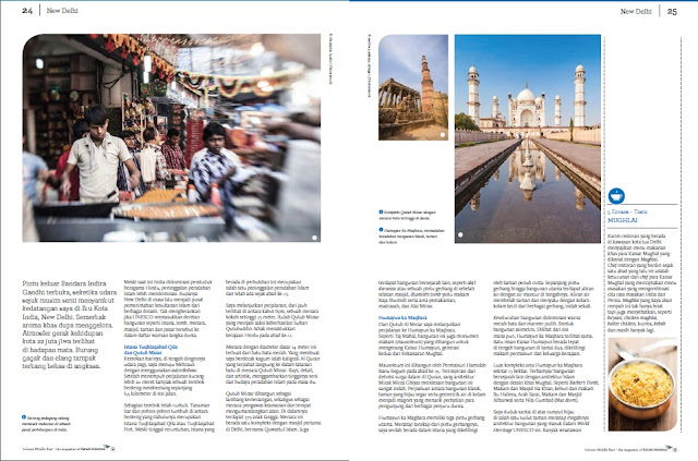 Travel writer for Inflight Magazine