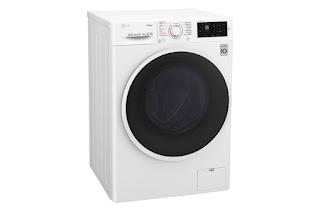 LG F4J6TGP0W 8kg Front Load Washing Machine