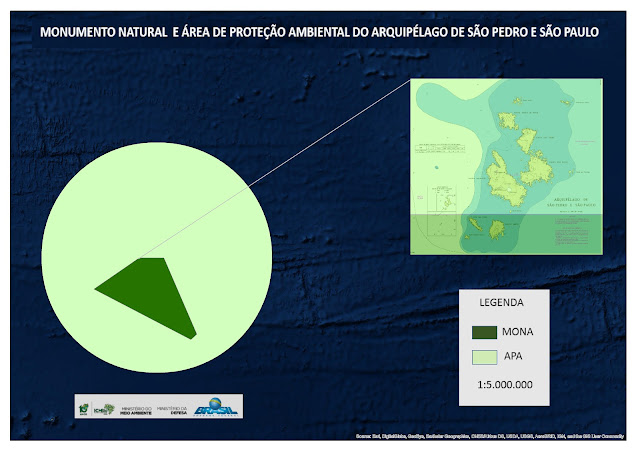 Área de Proteção Ambiental e Monumentos Naturais marinhos do Arquipélago de São Pedro e São Paulo  © Secretaria de Biodiversidade / MMA