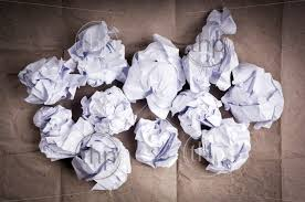 "Herd the ""Cattle""--Crumpled Paper Balls"