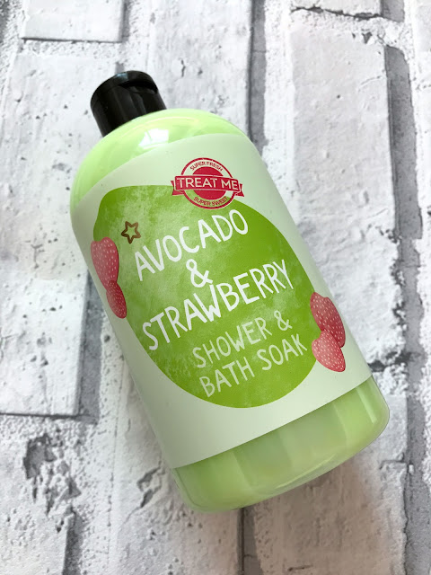 Superdrug Avocado & Strawberry Shower & Bath Soak