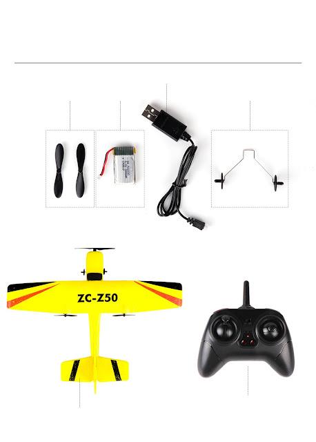 Máy bay điều khiển Z50_4