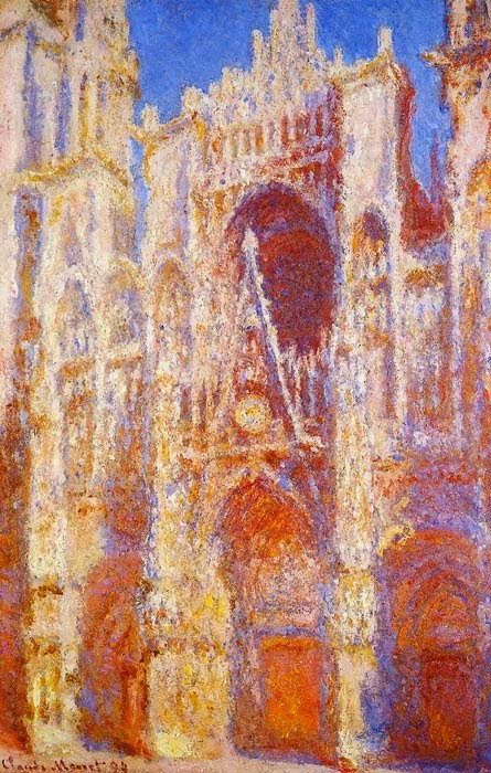 Claude Monet Le portail (Soleil). 1892 Sotheby's. 2000