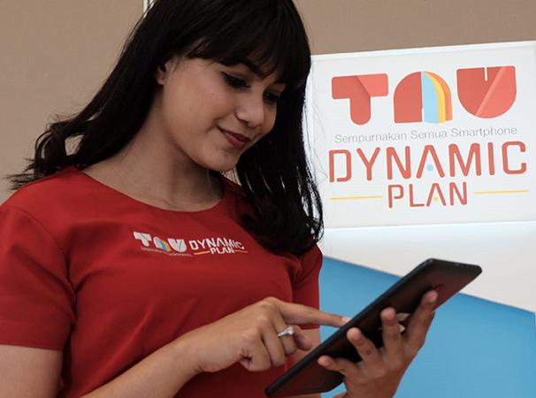 Tutorial Mendapatkan Paket Tau Dynamic Plan Gratis Kouta Internet 13+GB 1