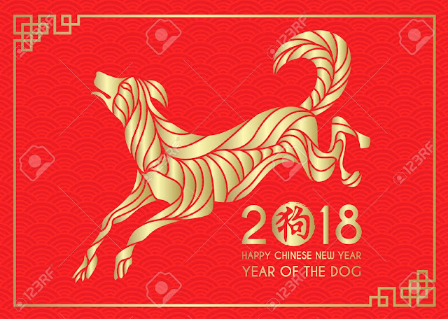 Happy Chinese New Year 2018! *woof* *woof* ...