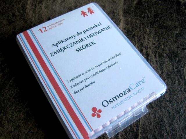 OsmozaCare Clic&Go Aplikatory do paznokci ZMIĘKCZANIE I USUWANIE SKÓREK