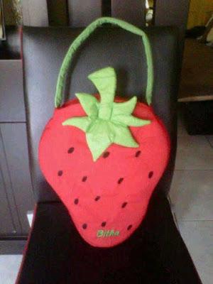 Tas Anak Strawberry
