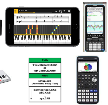 Casio Phone USB Drivers for All Models  Free Download for Windows