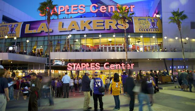 Staples Center em Los Angeles