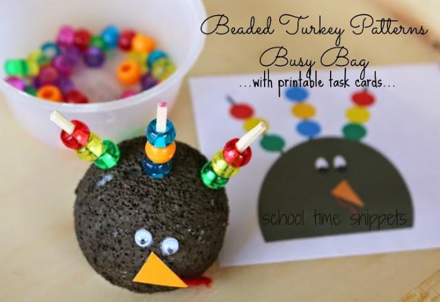 beaded turkey patterns