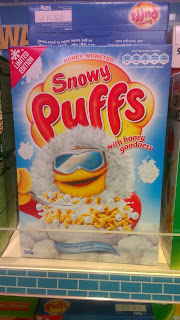 honey puffs with pieces of meringue