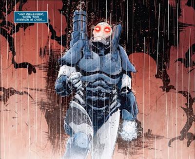 Frank Castle como War Machine - Marvel Comics