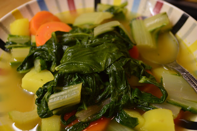 vegan chard soup