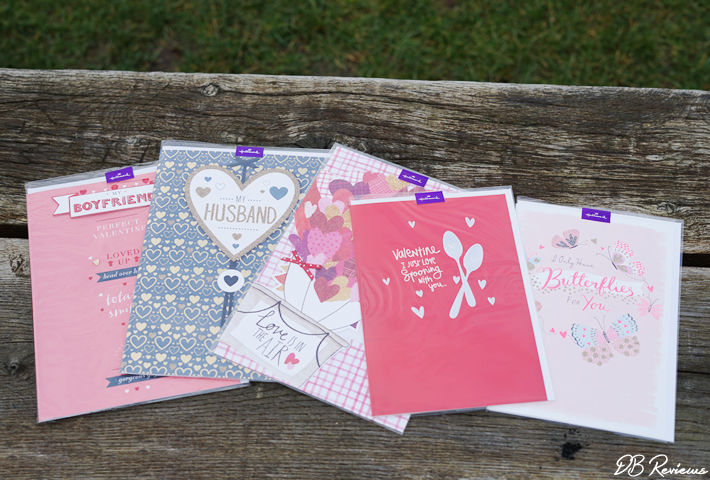 Valentine's Day range from Hallmark
