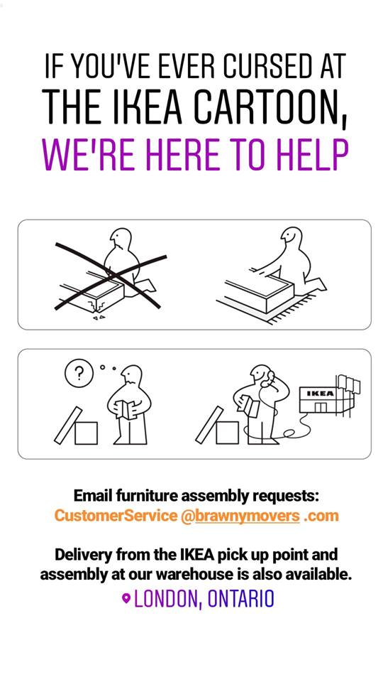 London Ontario Ikea furniture assembly