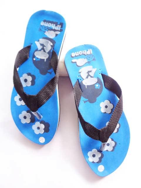 sandal teplek lisban cewe sablon murah