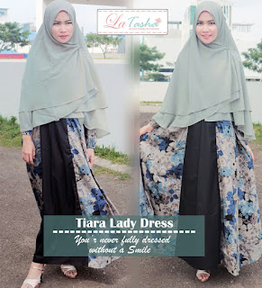 Gamis Latasha Tiara Lady Dress