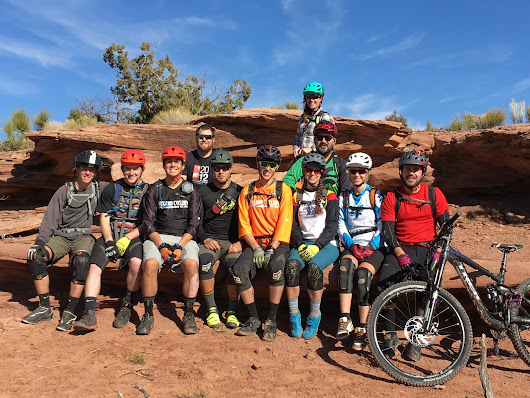 Hyland Cyclery Employee Moab Vacation