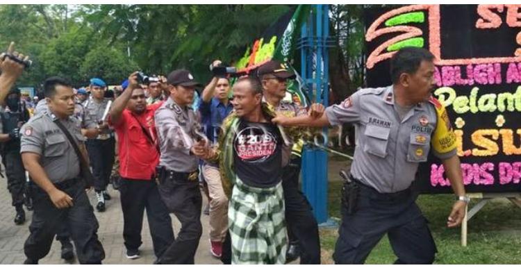 8 Oknum Fpi Diseret Polisi Karena Provokator Kericuhan Di Acara Hut Nu