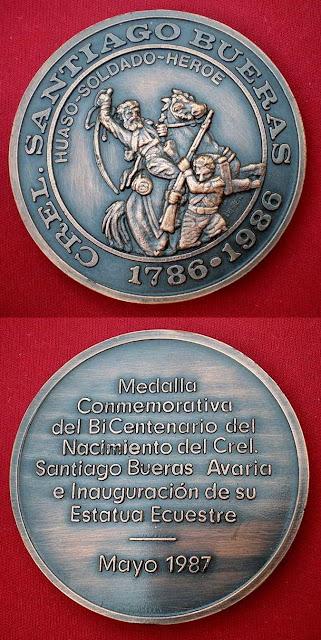 Inauguración Monumento Ecuestre a Santiago Bueras