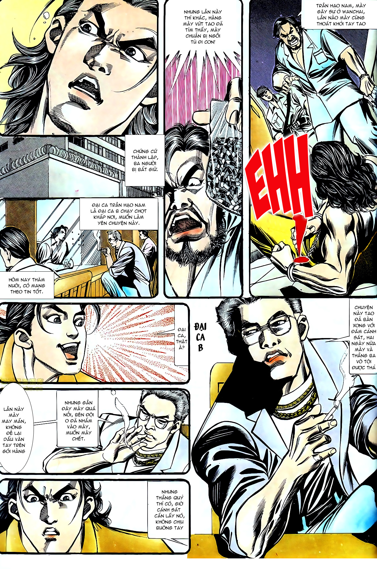 Người Trong Giang Hồ chapter 157: thiên đường địa ngục trang 9