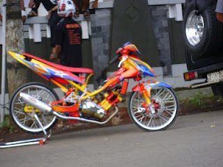 Motor Modifikasi Vega R