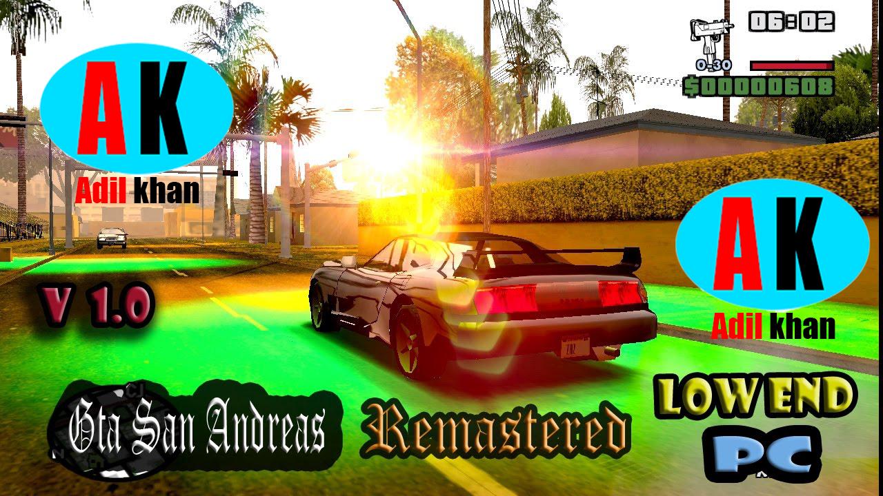 Gta San Andreas ENB Mods Setup - gamerkidunyia
