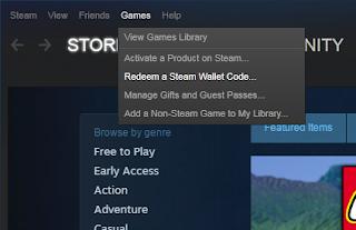 Begini cara membeli Steam wallet via pulsa XL