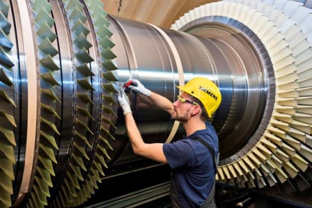 مكونات النظام الكهربائي فى محطة توليد الكهرباء الغازية