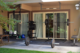 jes' crossfit blog my home gym