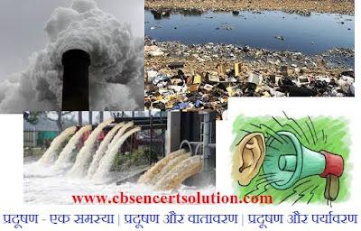 Hindi paragraph Rachna or Nibandh on Pradushan Ek Samasya | Air, Water, Sound Pollutions
