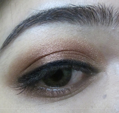 Colorbar Eye Shadow Spicy Brown swatches