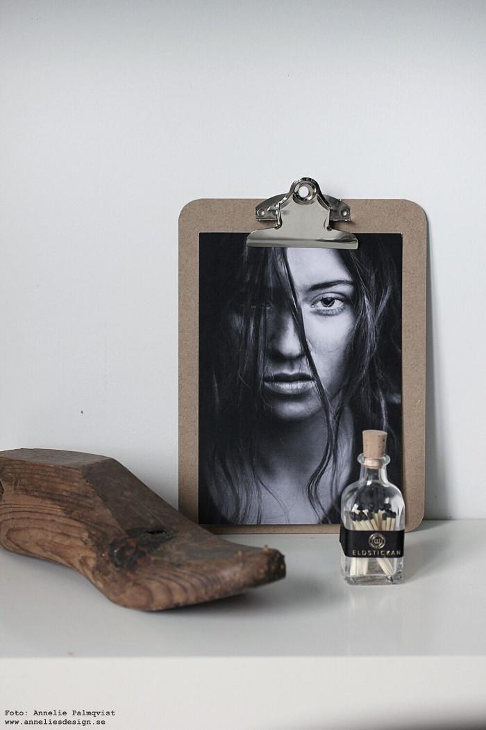 clipboard, modell, modellbilder, via martine, inredning, annelies design, poster, tavla, tändstickor, eldstickan