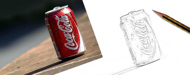 sketch lon cocacola