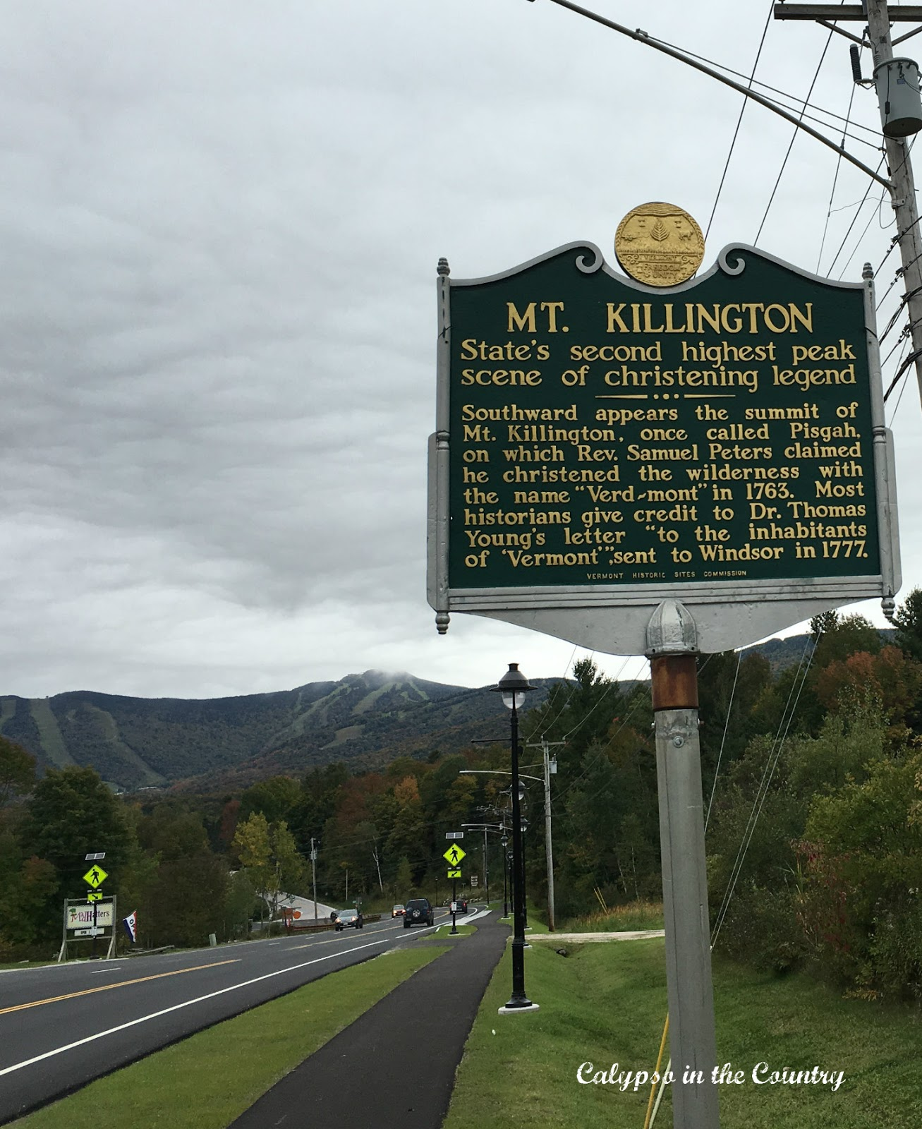 Killington Vermont in the Fall