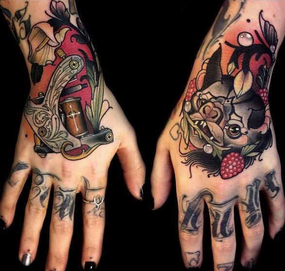 Besten Hand Tattoos
