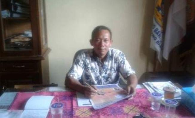 Kepala sekolah SMA-N2 Tulang Bawang Udik Berkilah jumlah siswa Realisasi Dana bos Sudah Sesuai.