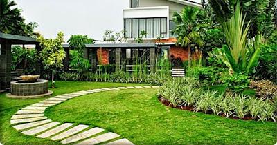 taman rumah menurut fengshui - tukang taman surabaya