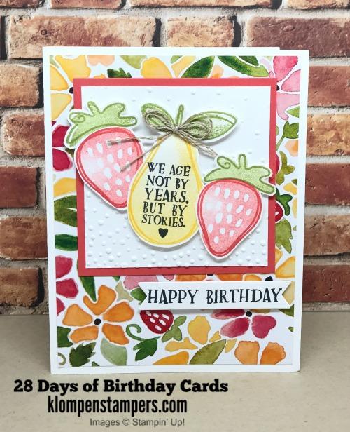 28 Days Of Birthday Cards -- Day #4