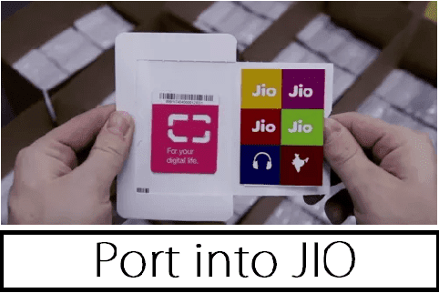 port into Jio MNP