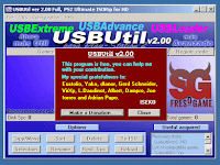 USBUtil V2.0 Langue English