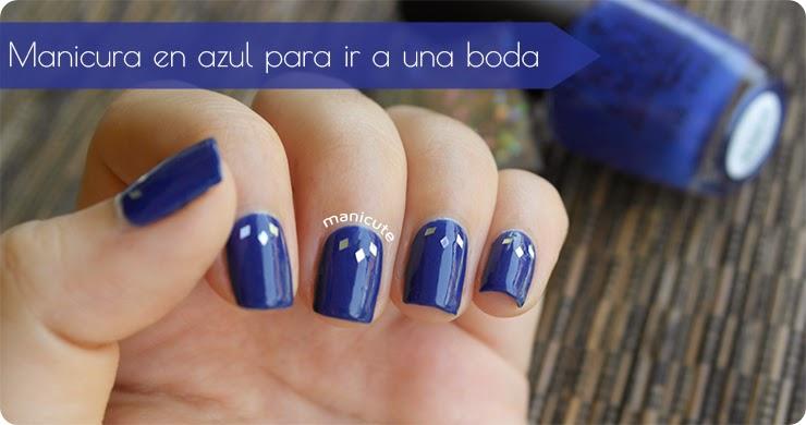 Manicute Nail Art Blog Manicura Para Invitada De Boda Sencillez - Manicuras-elegantes