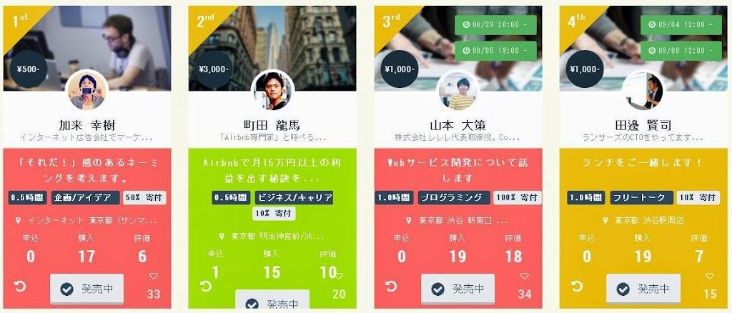 時間也能賣!日本TimeTicket網站讓你自訂價格,還能做公益
