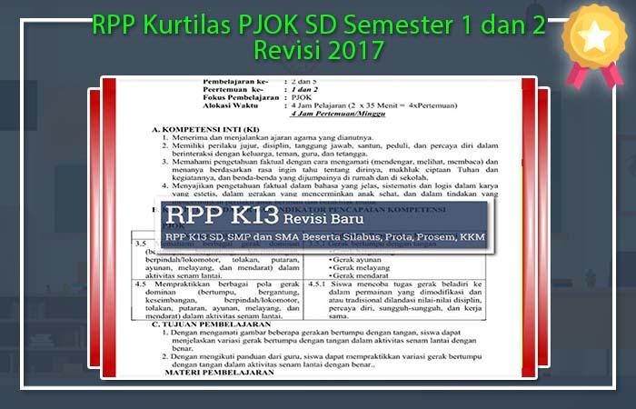 RPP Kurtilas PJOK SD
