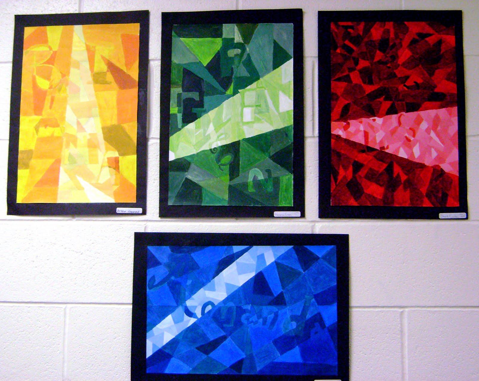 High School Art Class Project Ideas