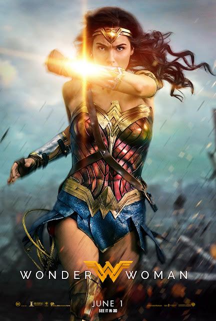 Wonder Woman - Deflection Poster