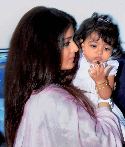 Aradhya Aishwarya Rai Cute baby